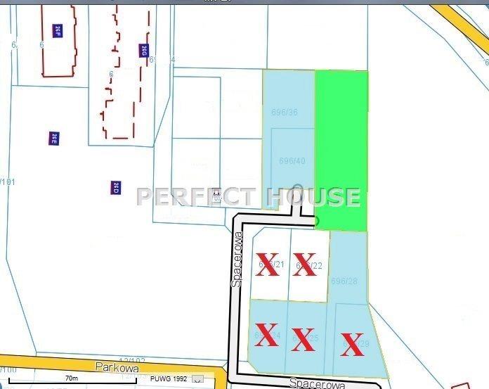 Działka budowlana na sprzedaż Baranowo  2467m2 Foto 1
