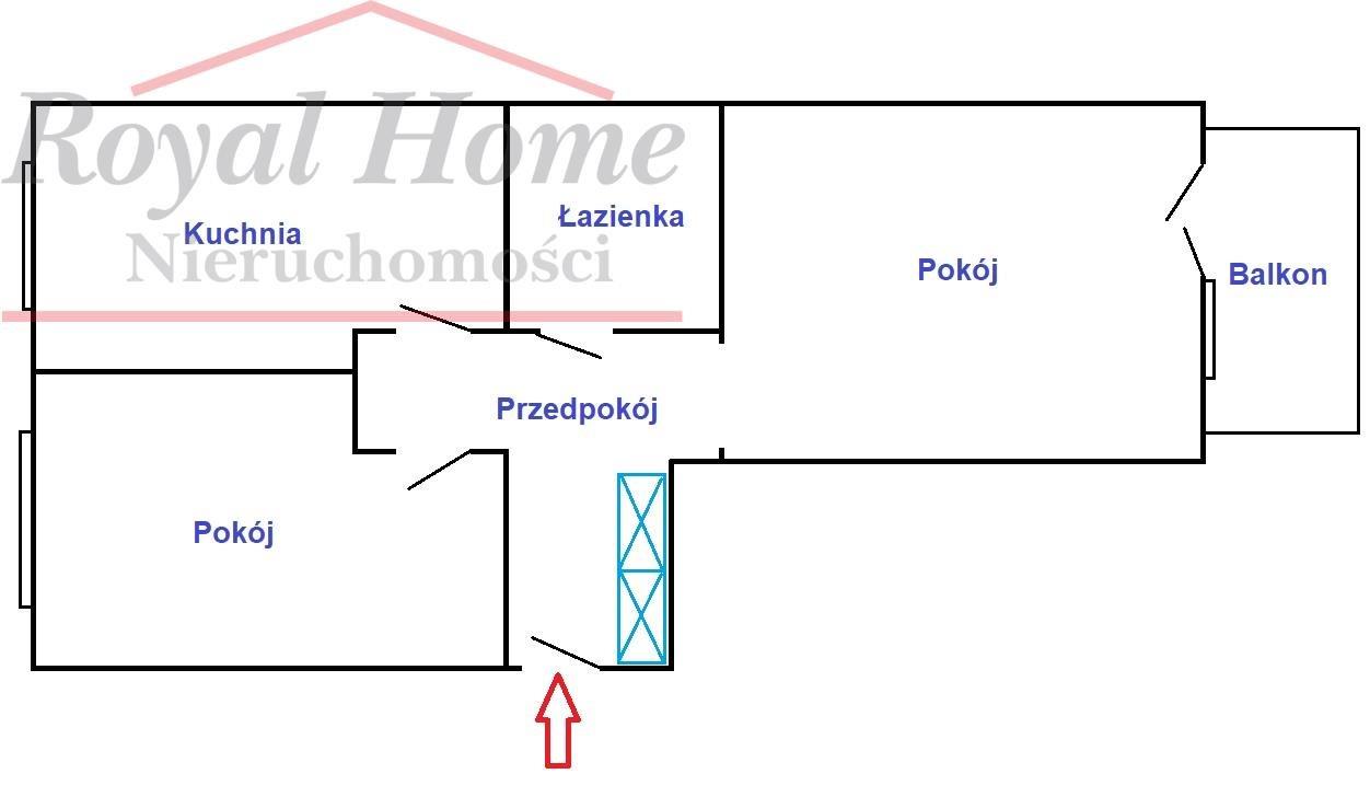 Mieszkanie dwupokojowe na sprzedaż Wrocław, Fabryczna, Żerniki, Rumiankowa  50m2 Foto 13