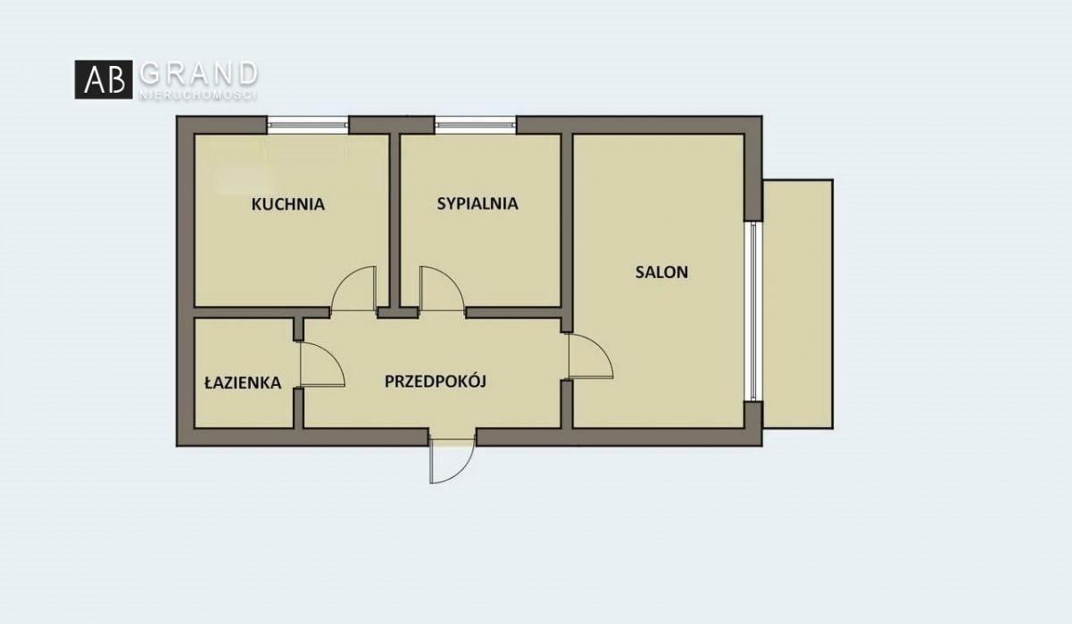 Mieszkanie dwupokojowe na sprzedaż Białystok, Piaski, Wesoła  40m2 Foto 7