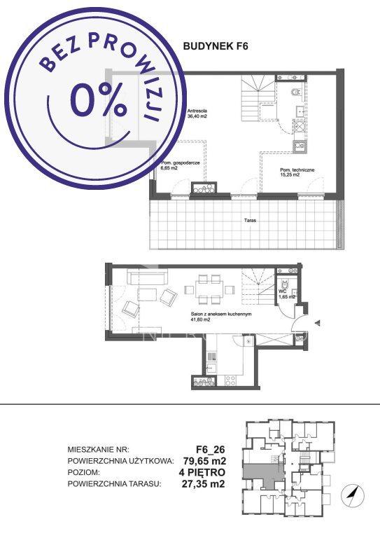 Mieszkanie dwupokojowe na sprzedaż Katowice, Piotrowice, Zabłockiego  102m2 Foto 1