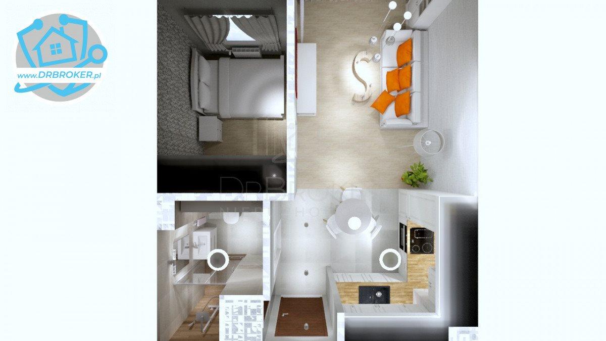 Mieszkanie dwupokojowe na sprzedaż Białystok, Piasta  35m2 Foto 5