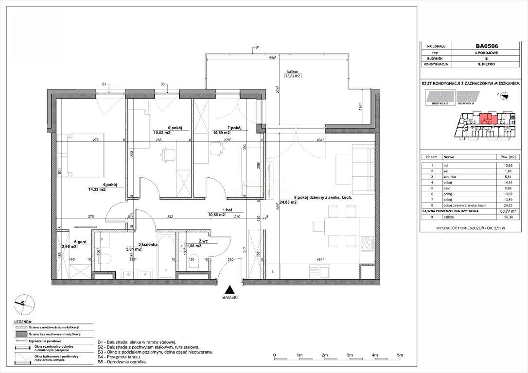 Mieszkanie czteropokojowe  na sprzedaż Warszawa, Białołęka, Wyspiarska  80m2 Foto 1