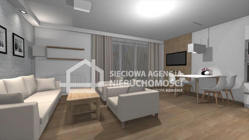 Mieszkanie trzypokojowe na sprzedaż Chojnice, Grunowo  63m2 Foto 1