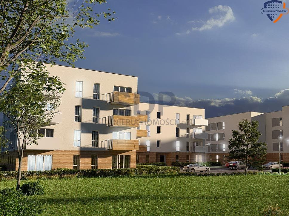 Mieszkanie trzypokojowe na sprzedaż Wrocław, Krzyki, Klecina, Dożynkowa  51m2 Foto 3