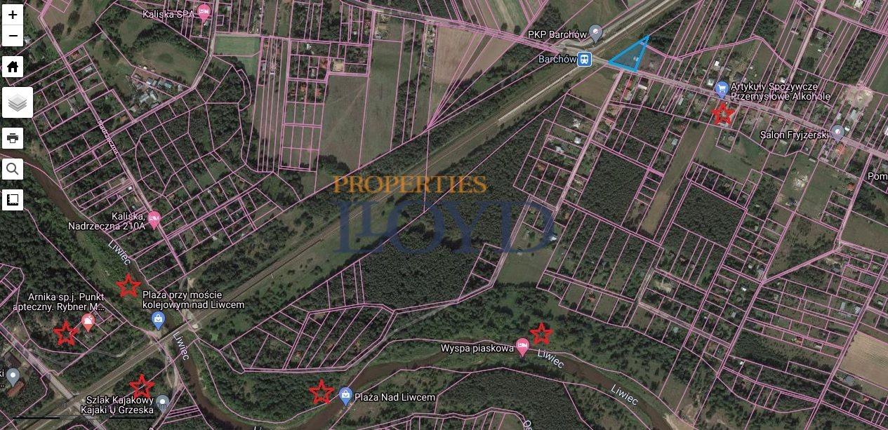 Działka budowlana na sprzedaż Barchów, Barchów  2101m2 Foto 3