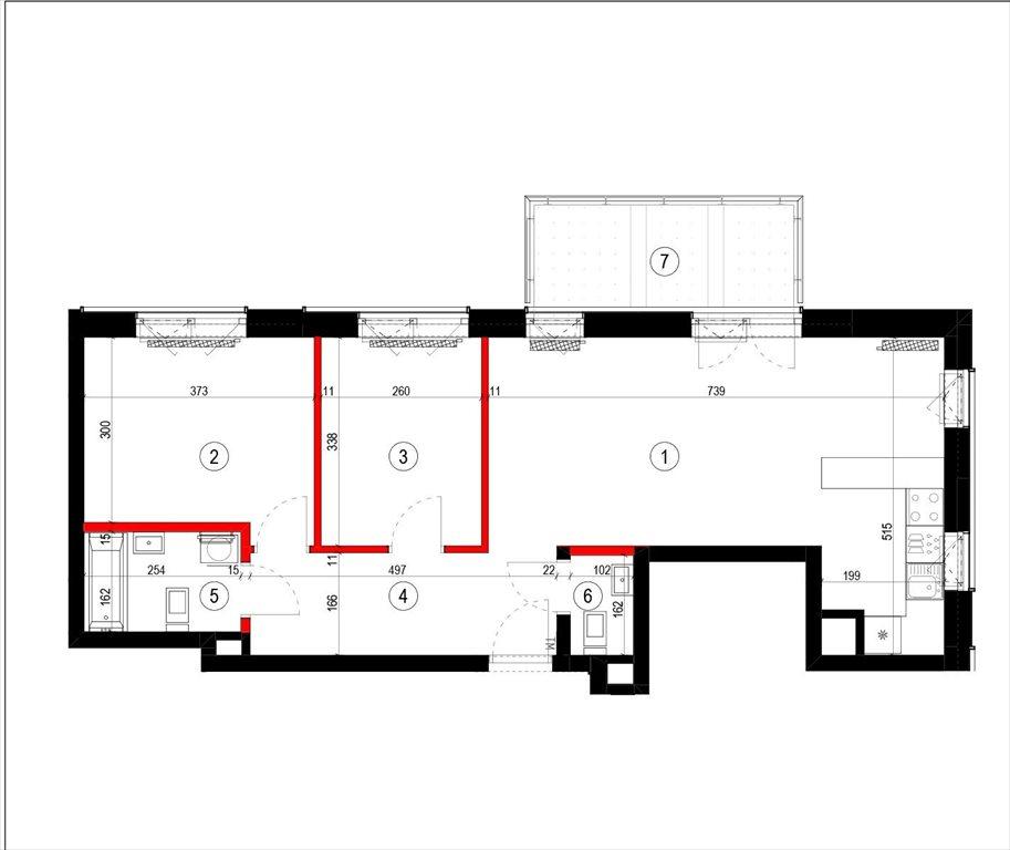 Mieszkanie trzypokojowe na sprzedaż Warszawa, Mokotów, Modzelewskiego  63m2 Foto 1
