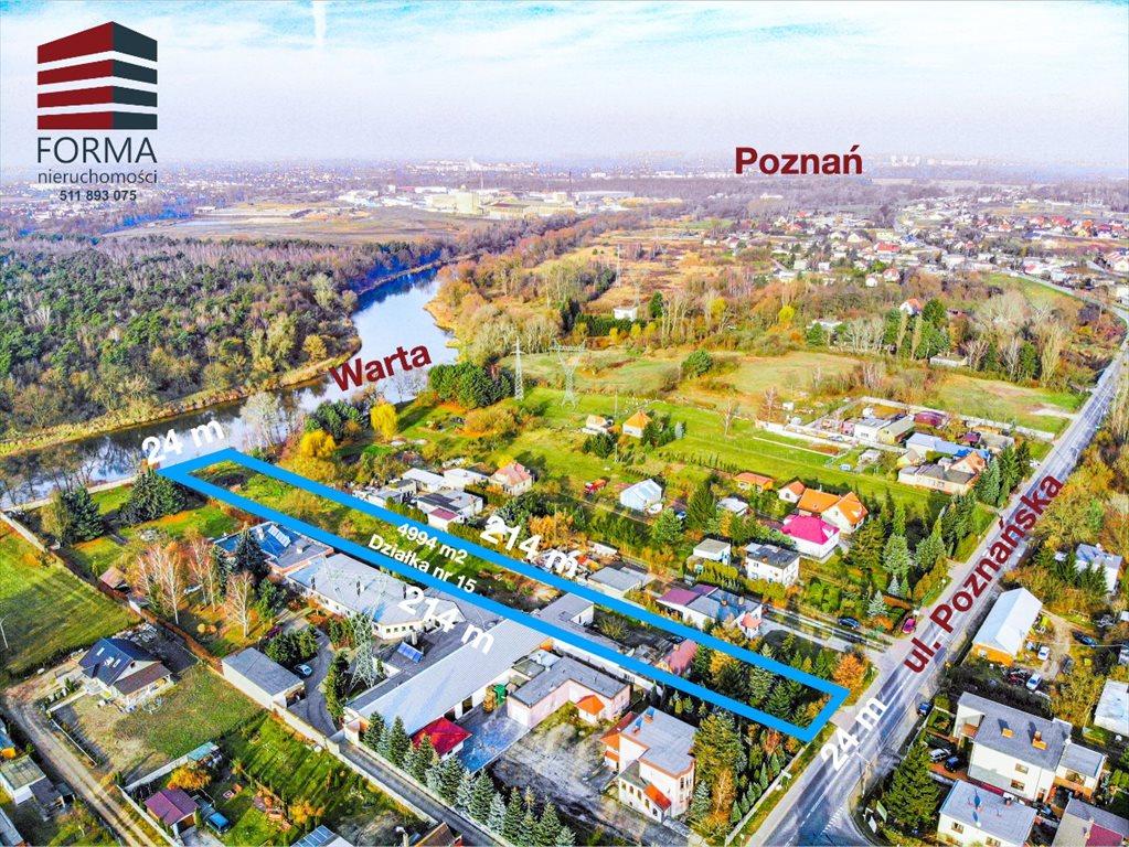 Działka budowlana na sprzedaż Czapury, Poznańska  4994m2 Foto 6