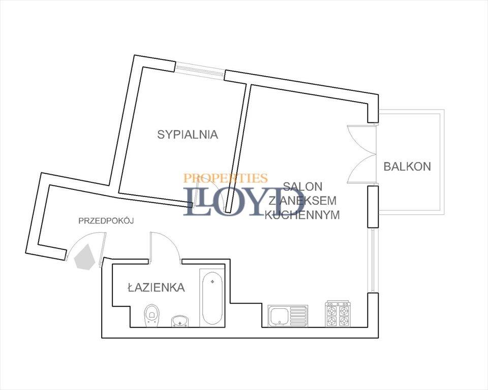 Mieszkanie dwupokojowe na sprzedaż Warszawa, Białołęka, Krzyżówki  46m2 Foto 9