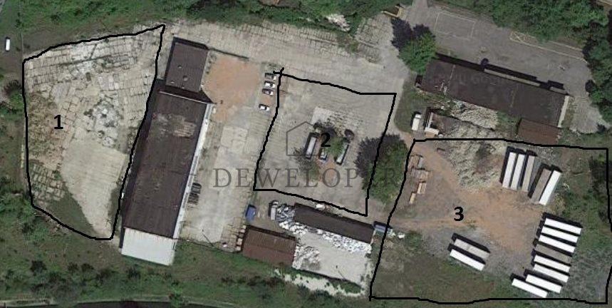 Działka przemysłowo-handlowa pod dzierżawę Katowice, Burowiec  8500m2 Foto 9