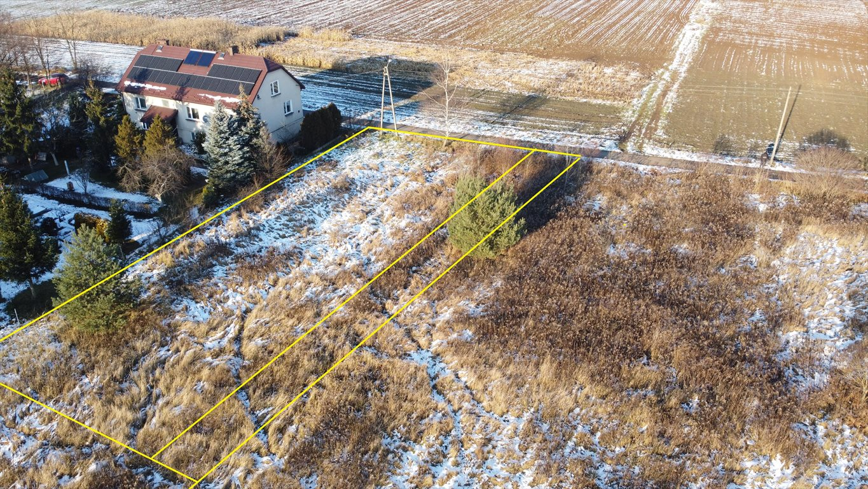 Działka budowlana na sprzedaż Jaworzno, Ciężkowice, Klinowa  832m2 Foto 1