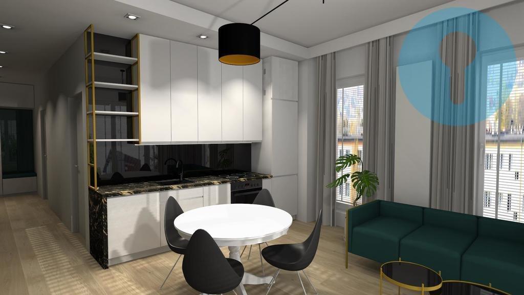 Mieszkanie trzypokojowe na wynajem Kielce, Centrum  55m2 Foto 2