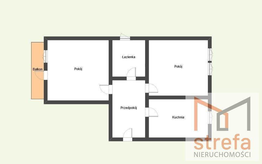 Mieszkanie dwupokojowe na sprzedaż Lublin, Śródmieście  56m2 Foto 8