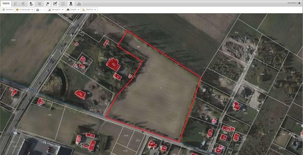 Działka przemysłowo-handlowa na sprzedaż Tuchom, graniczna, od ul. gdyńskiej  28700m2 Foto 1