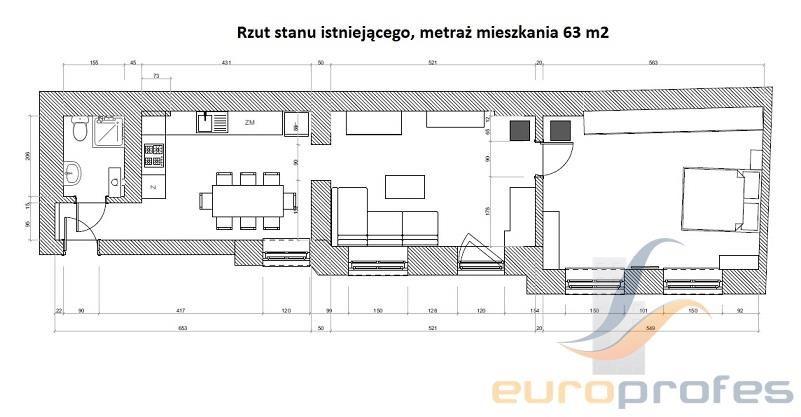 Mieszkanie trzypokojowe na sprzedaż Katowice, Śródmieście, Wojewódzka  61m2 Foto 7
