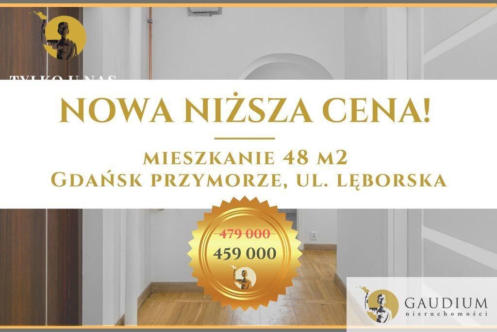Mieszkanie dwupokojowe na sprzedaż Gdańsk, Przymorze, Lęborska  48m2 Foto 1