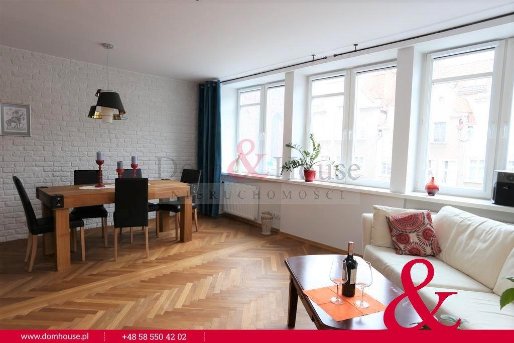 Mieszkanie dwupokojowe na wynajem Gdańsk, Stare Miasto, Grobla I  53m2 Foto 3