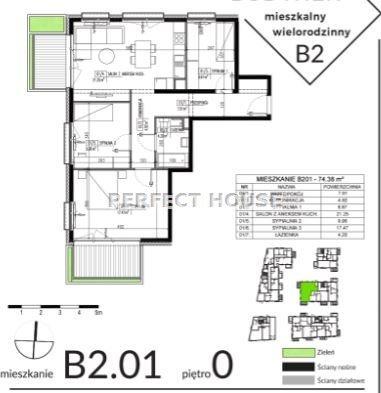Mieszkanie czteropokojowe  na sprzedaż Poznań, Winiary  74m2 Foto 11
