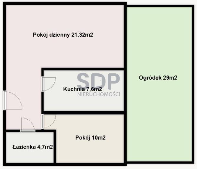 Mieszkanie dwupokojowe na sprzedaż Wrocław, Fabryczna, Stabłowicka  48m2 Foto 2