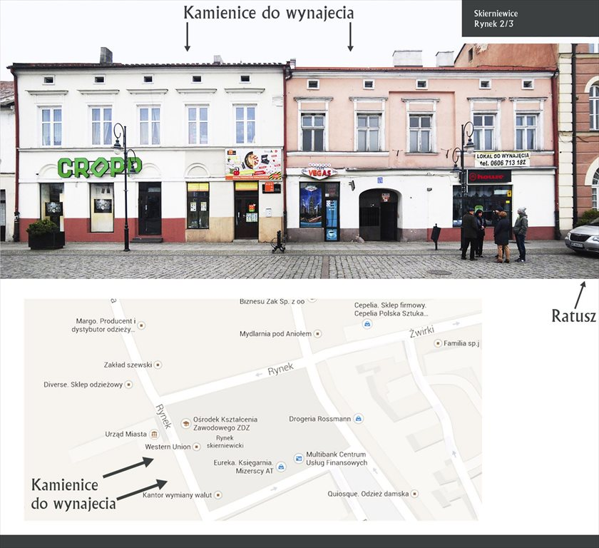 Lokal użytkowy na wynajem Skierniewice, Rynek  193m2 Foto 1
