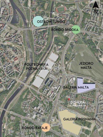 Działka budowlana na sprzedaż Poznań, Rataje, Polanka  972m2 Foto 1