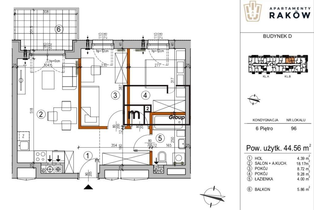 Mieszkanie trzypokojowe na sprzedaż Warszawa, Włochy, Borsucza  45m2 Foto 1