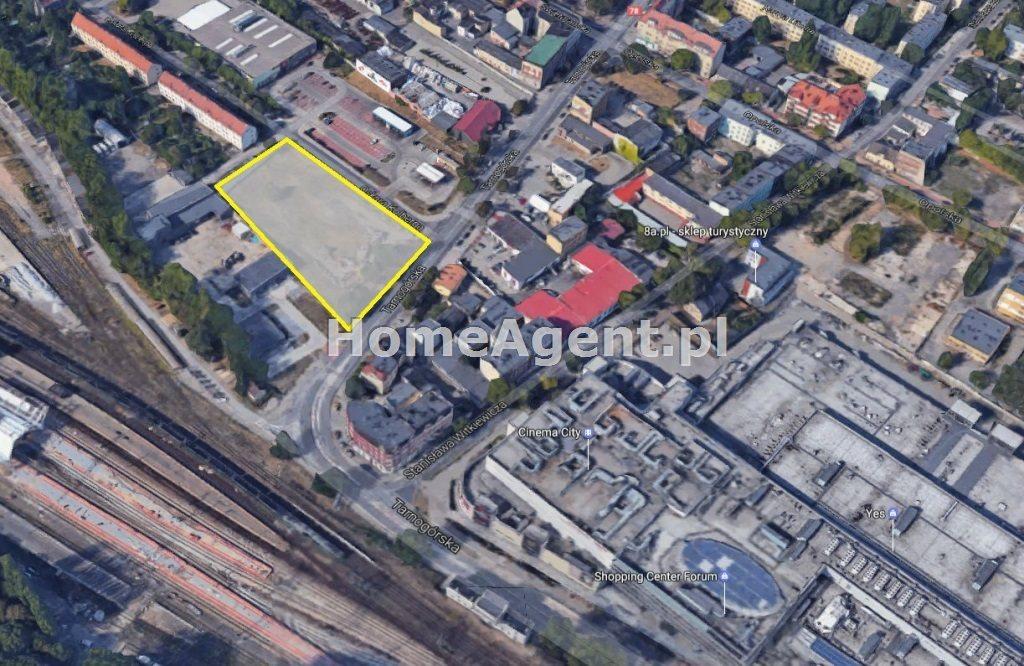 Działka inwestycyjna na sprzedaż Gliwice, Centrum, Tarnogórska  5478m2 Foto 2