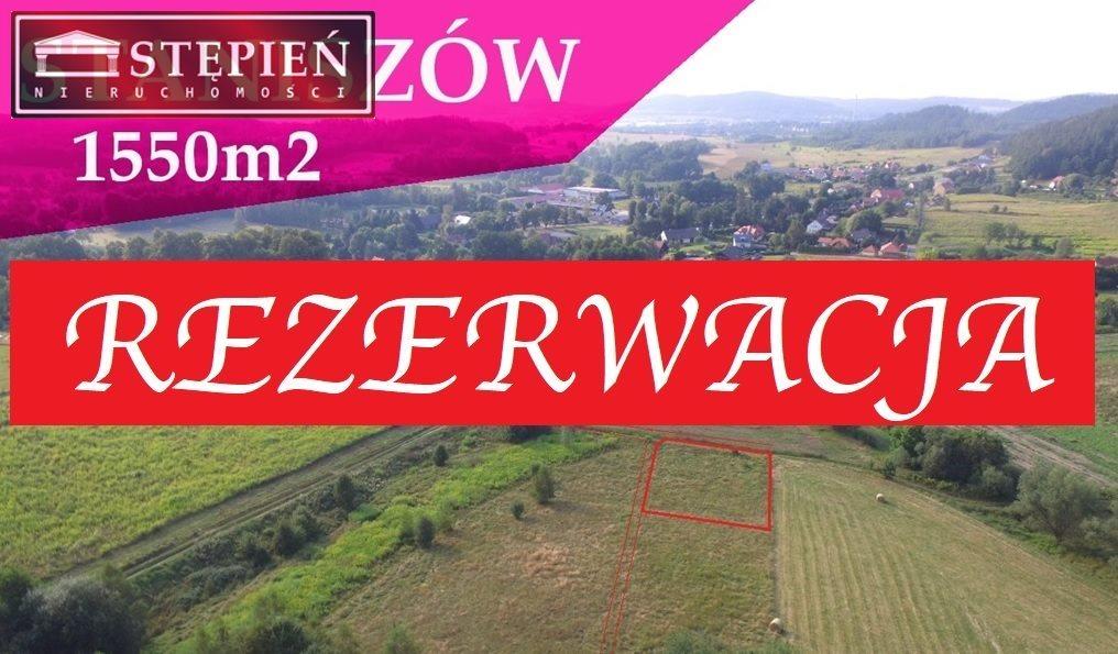 Działka budowlana na sprzedaż Staniszów  1550m2 Foto 1