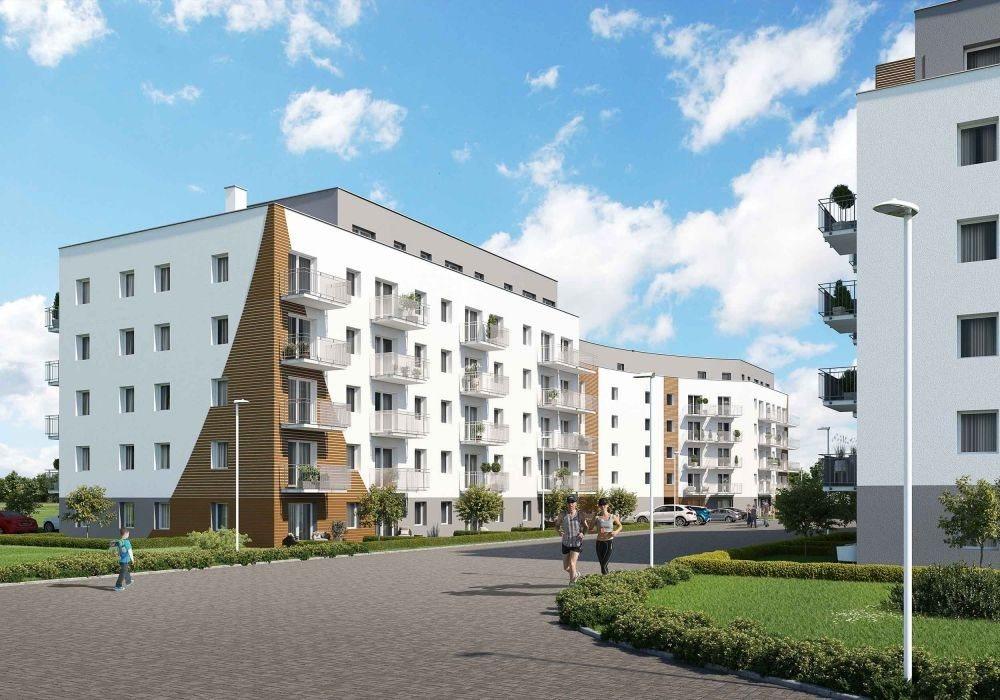 Mieszkanie trzypokojowe na sprzedaż Poznań, Malta, abpa Walentego Dymka  52m2 Foto 3