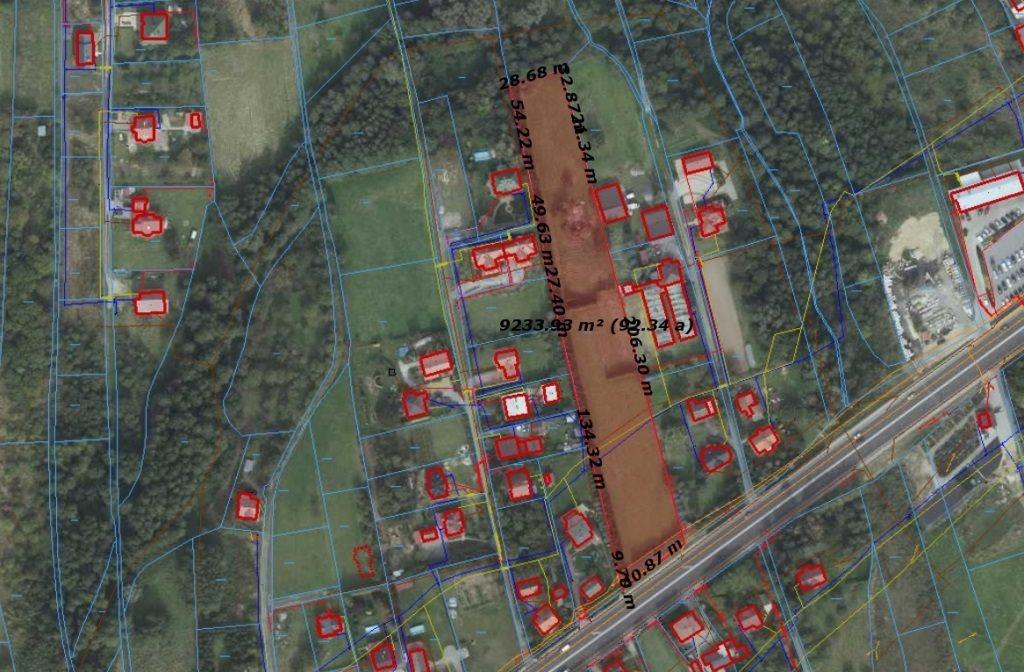 Działka budowlana na sprzedaż Łańcut, Józefa Piłsudskiego  9246m2 Foto 6