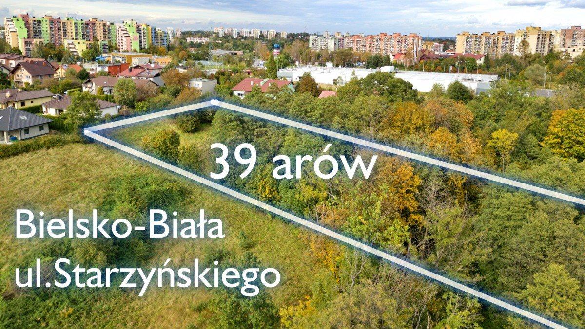 Działka budowlana na sprzedaż Bielsko-Biała, Stefana Starzyńskiego  3900m2 Foto 1