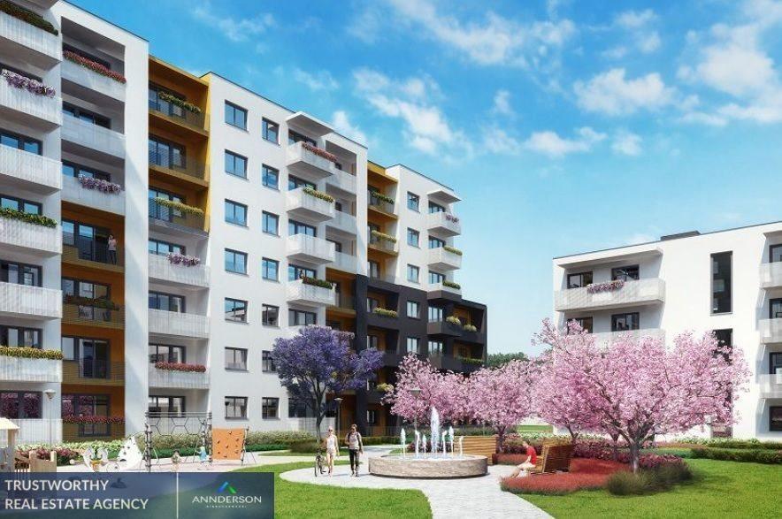 Mieszkanie dwupokojowe na sprzedaż Kraków, Bonarka, Bonarka  47m2 Foto 2