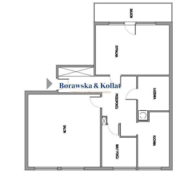 Mieszkanie trzypokojowe na sprzedaż Warszawa, Mokotów, Stefana Pieńkowskiego  64m2 Foto 7
