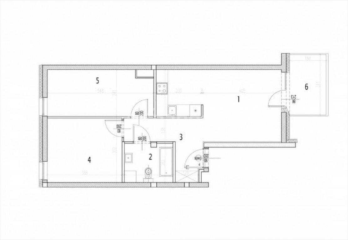 Mieszkanie trzypokojowe na sprzedaż Siechnice  58m2 Foto 4