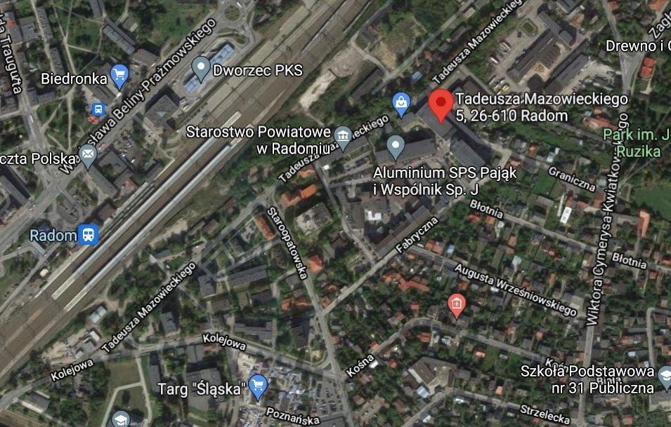 Lokal użytkowy na sprzedaż Radom, Tadeusza Mazowieckiego  7500m2 Foto 3