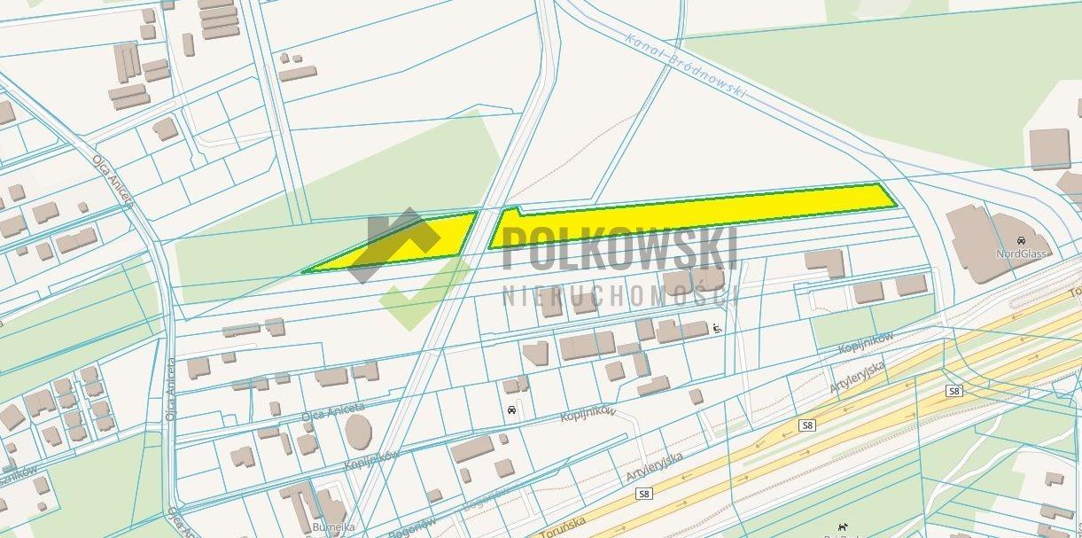 Działka komercyjna na sprzedaż Warszawa  13230m2 Foto 7