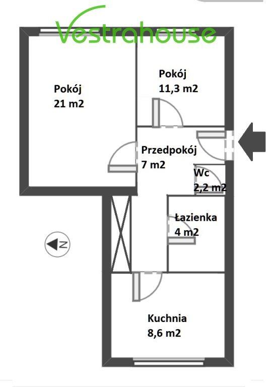 Mieszkanie dwupokojowe na sprzedaż Warszawa, Mokotów, Sielce, Sielecka  54m2 Foto 9