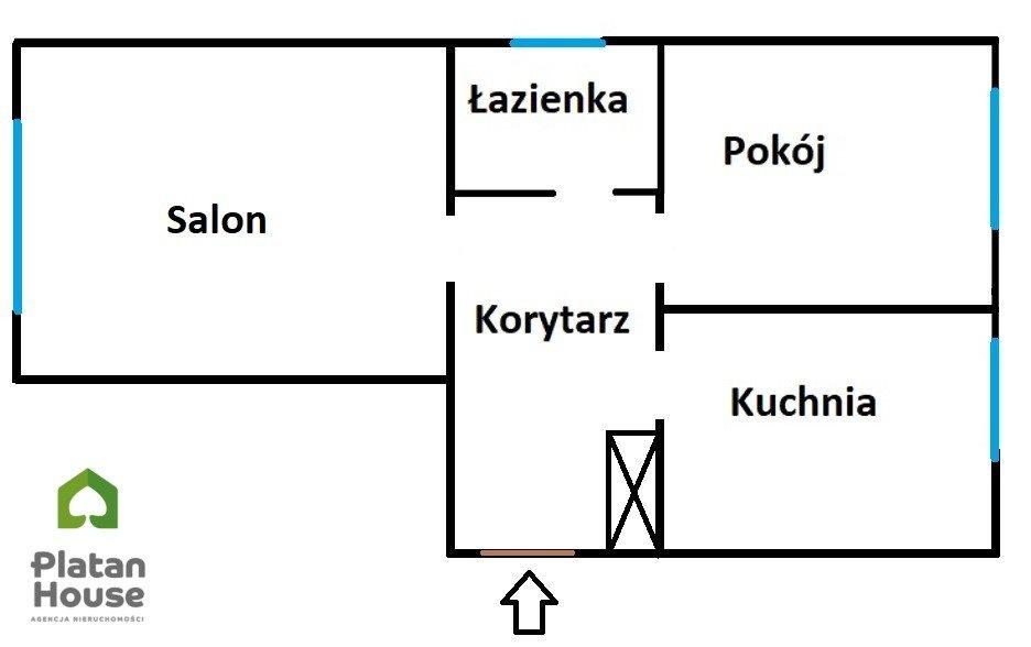 Mieszkanie dwupokojowe na sprzedaż Warszawa, Wola, Eustachego Tyszkiewicza  47m2 Foto 3