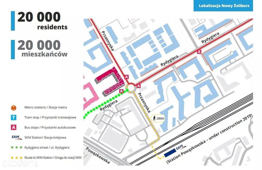 Lokal użytkowy na wynajem Warszawa, Żoliborz, Ludwika Rydygiera  116m2 Foto 3
