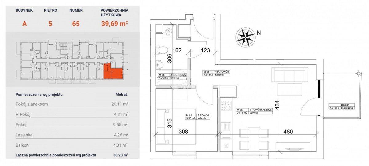 Mieszkanie dwupokojowe na sprzedaż Bydgoszcz, Bocianowo, Pomorska  40m2 Foto 5