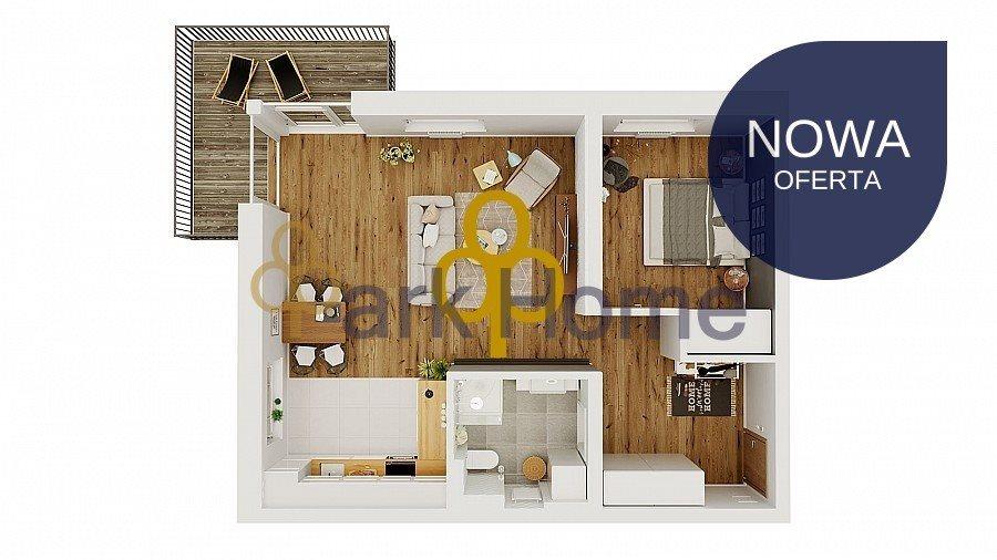 Mieszkanie dwupokojowe na sprzedaż Leszno, Międzytorze  59m2 Foto 1