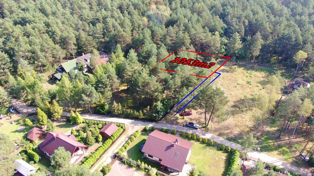 Działka rekreacyjna na sprzedaż Hutki-Kanki, Poziomkowa  1053m2 Foto 6