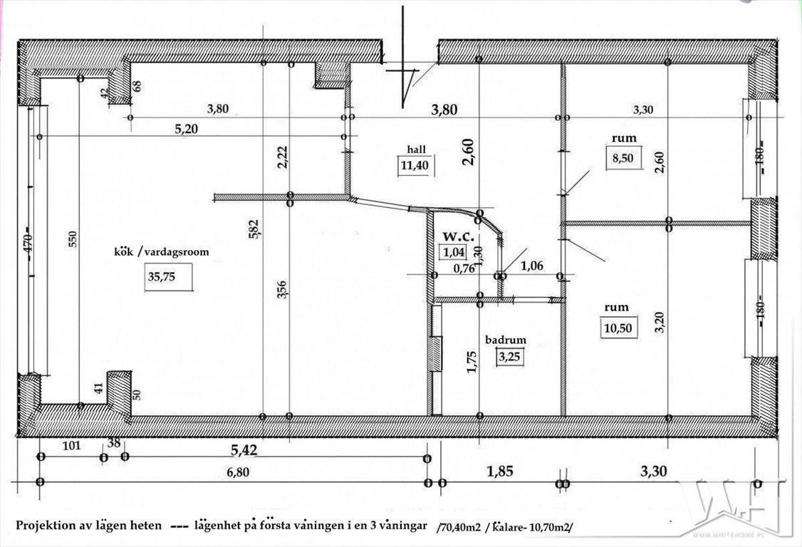 Mieszkanie trzypokojowe na sprzedaż Sopot, Kamienny Potok, Mazowiecka  70m2 Foto 10