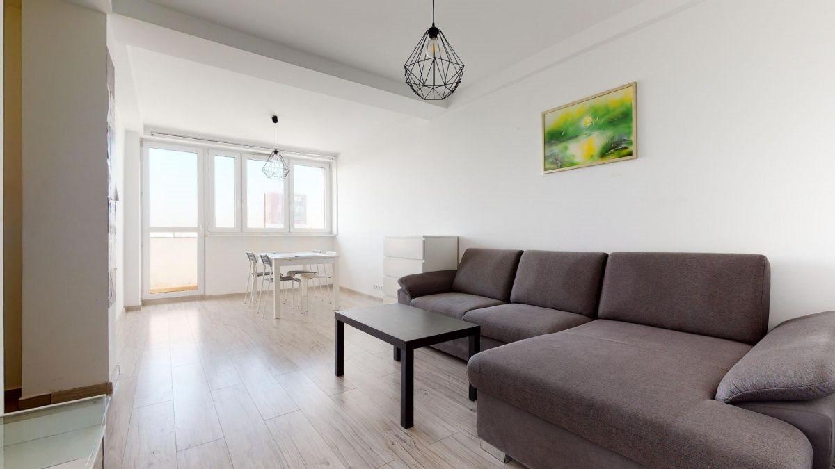 Mieszkanie dwupokojowe na sprzedaż Katowice, Centrum, Aleja Wojciecha Korfantego  48m2 Foto 2