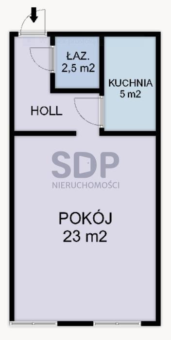 Lokal użytkowy na sprzedaż Wrocław, Śródmieście, Nadodrze, Bolesława Chrobrego  34m2 Foto 5