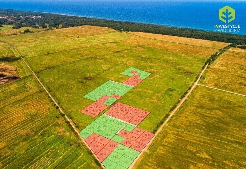 Działka rolna na sprzedaż Słupsk, Doskonały teren położony niedaleko plaży  501m2 Foto 3