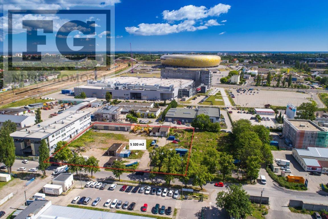 Działka przemysłowo-handlowa na sprzedaż Gdańsk, Letnica  5320m2 Foto 1
