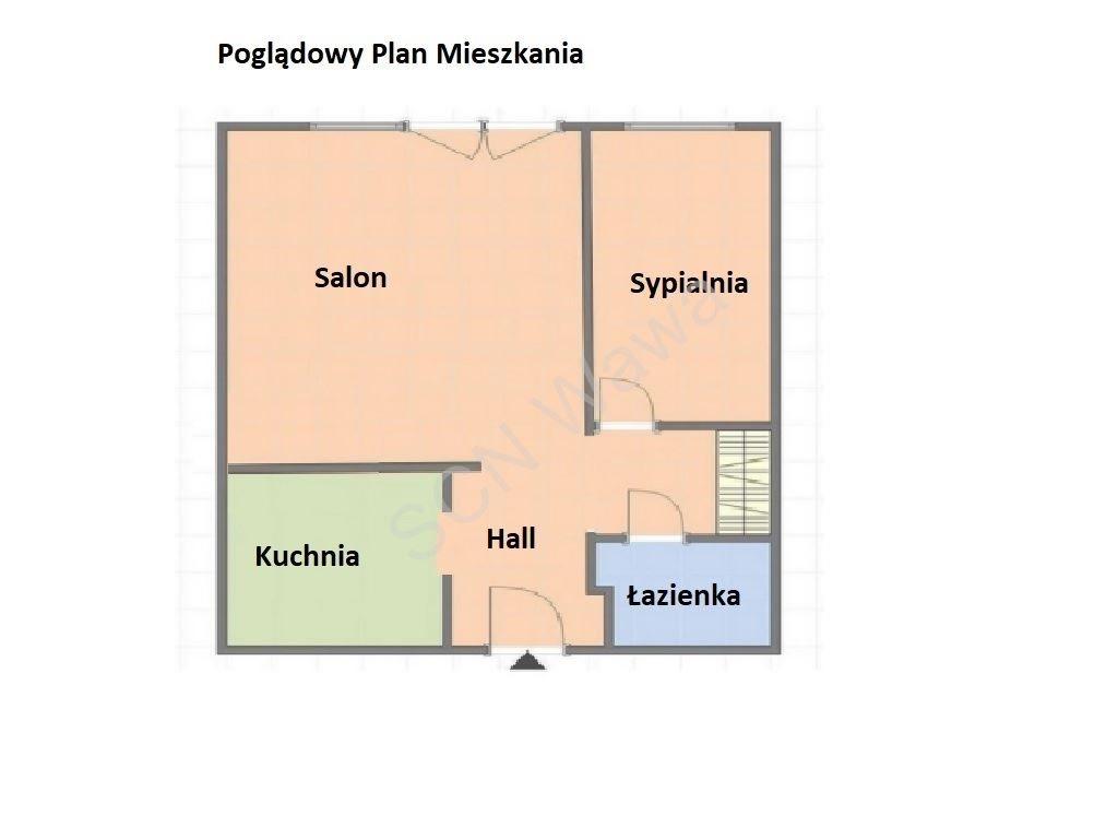 Mieszkanie dwupokojowe na sprzedaż Warszawa, Śródmieście, Krochmalna  39m2 Foto 10