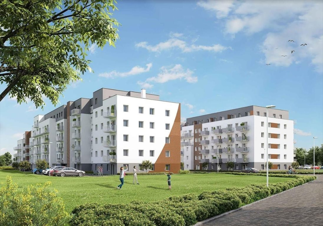 Mieszkanie trzypokojowe na sprzedaż Poznań, Malta, abpa Walentego Dymka  47m2 Foto 1