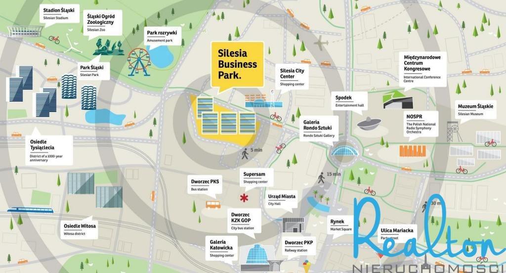 Lokal użytkowy na wynajem Katowice, Śródmieście, Chorzowska  240m2 Foto 8