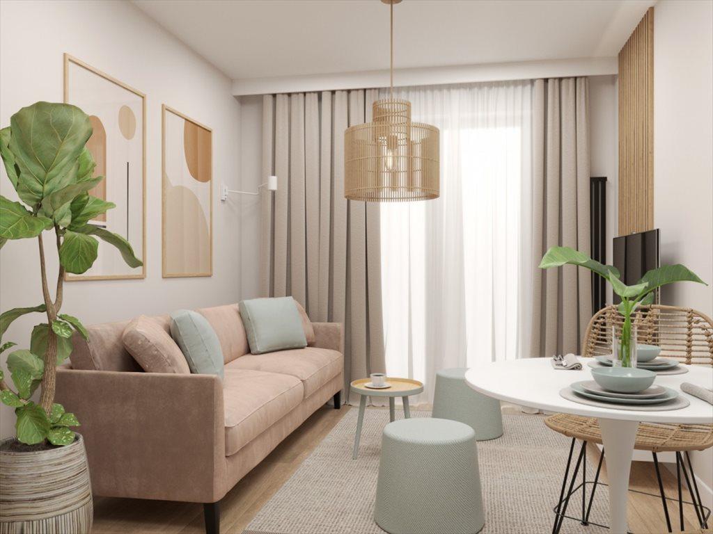 Mieszkanie trzypokojowe na sprzedaż Kraków, Bieżanów, Półłanki  46m2 Foto 2